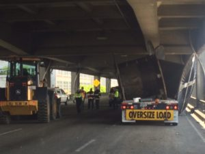 Truck route planning crash-Seattle Viaduct