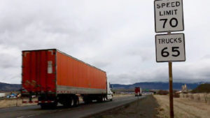 Oregon-highway-I84-speed-limit-trucks