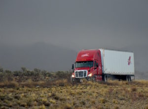 Semi-truck_transportation-Washington-highway
