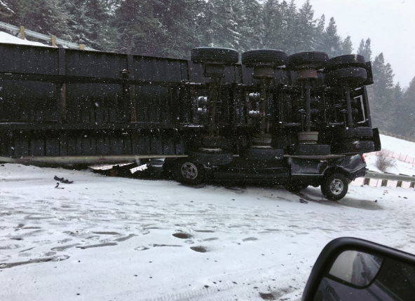 WashingtonStatePatrol_semi-truck crash